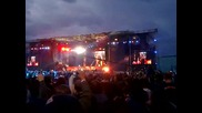 Metallica в София 22, 06, 2010 - Opening