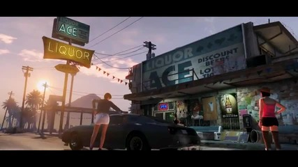 Grand Theft Auto V Trailer - Gta 5