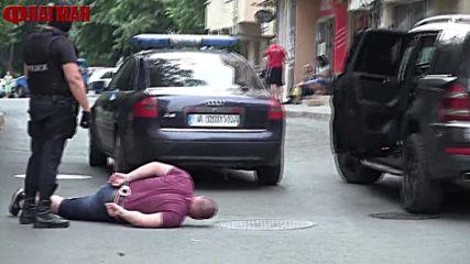 Зрелищни арести в Бургас