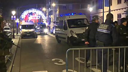 France: Strasbourg remains on lockdown following Christmas market shooting
