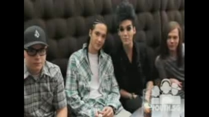 Tokio Hotel says Hi to the Singapore fanclub