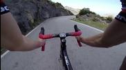 Bicycle Full Descent of Sa Calobra - Gopro 1080p Hd - majorca mallorca spain downhill spuskane bike