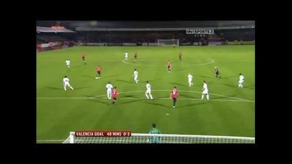 Манчестър Юнайтед 3 - 0 Оуен Валенсия Супер Гол *hq*
