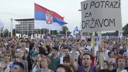 Serbia: 10,000s take to the streets as protests against Belgrade Waterfront continue
