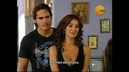 Catalina ve Albeyro juntos y Ilda