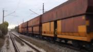 44 194 и 43 531 с товарен влак след сп.връбница