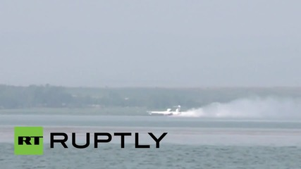 Russia: Amphibious Be-200ES to the rescue as wildfires continue to dog Siberia