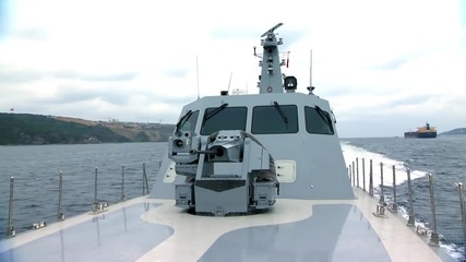 Aselsan _ Smash 30mm Remote Controlled Stabilized Naval Gun System