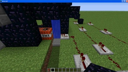 Minecraft автоматично Tnt gan