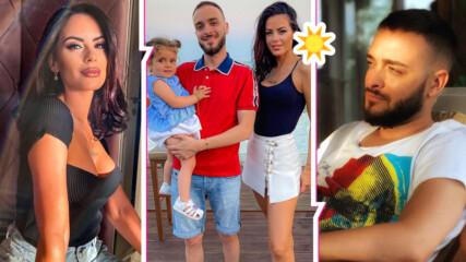 Цяло лято на морето: Криско и Цвети с почивка мечта! Скарани ли са изпълнителят и Сами Хосни?