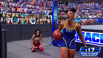 Bianca Belair soars through Bayley's Ultimate Athlete Obstacle Course: SmackDown, Jan. 22, 2021