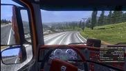 Euro Truck Simulator 2 #21 Хубав път и готина музика