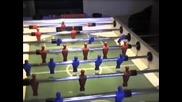 foosball aerial trick shots