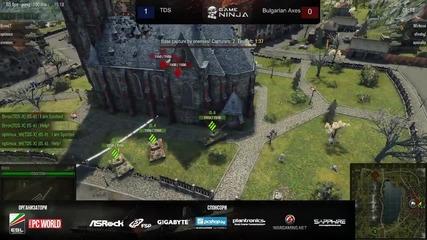 Game Ninja: Wot 3vs3 Bulgarian Axes vs Tds игра 2