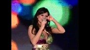 След дълги аплодисменти невероятната Преслава казва на многобройните си фенове Обичам Ви !!!