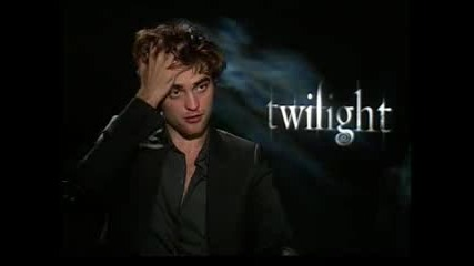 Robert Pattinson Interview For Twilight