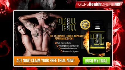 Drill Pill Review - How Does Drill Pill Supplement Works? Try Drill Pill Free Trial Now