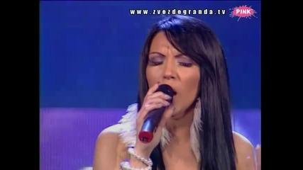 Marina Antić - Sa bilo kim (Zvezde Granda 2010_2011 - Emisija 22 - 05.03.2011)