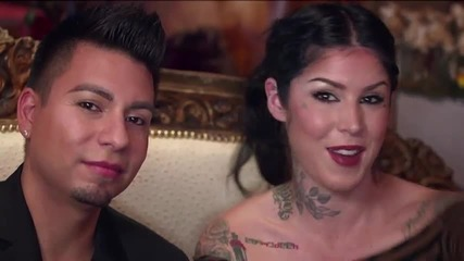 Kat Von D Shows You How to Contour a Round Face Shape Using Everlasting Bronzer and Blush