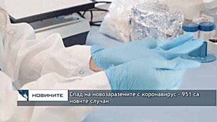 Спад на новозаразените с коронавирус - 951 са новите случаи