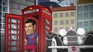 Fc Barcelona vs Arsenal Fc - Cartoon Trailer 2011