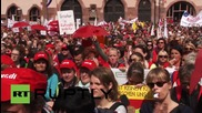 Germany: Thousands march in Frankfurt as social work labour disputes rumble on