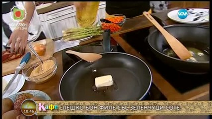 """""""На кафе"""" с Жана Бергендорф"""