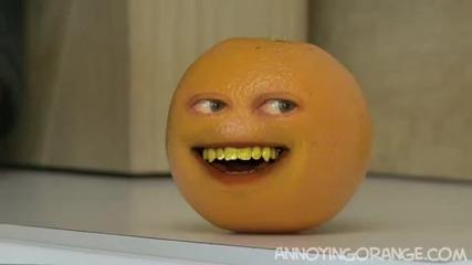 Annoying Orange - голямо зеле
