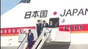 USA: Japanese PM Abe touches down in Washington for nuclear summit