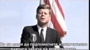 Джон Кенеди (публична реч - 27 април 1961 г.) - Президентът, който изрече истината!