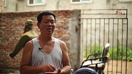 China: Ex-Chinese soldiers creates self-driving 'Japanese Devil Rickshaw'
