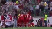 Словения 2:3 Англия 14.06.2015