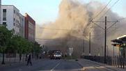 USA: Police fire tear gas as protest over George Floyd's death rocks Minneapolis
