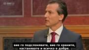 Роберт Лугар за бежанците - (видео) Бг субтитри