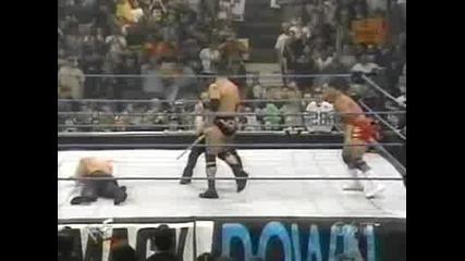 Wwf Smackdown - The Rock vs. Kurt Angle 06.01.2000