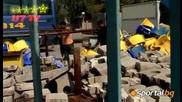 Роми Рециклират Седалки На Герена 16.09.2008 Високо Качество