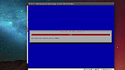 Debian 8.4 base install