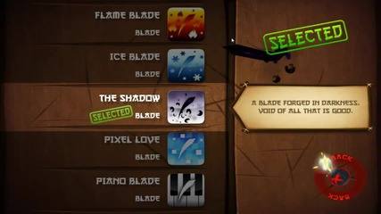 Fruit Ninja All Blades and Background