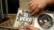 Dj Hero for Ps3 разопаковане