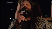 Bray Wyatt promises that the Cenation will crumble at his feet at Payback Smackdown, May 23, 2014