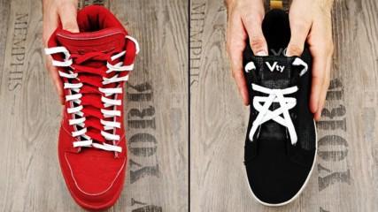 11 Креативни начина да си завържете обувките