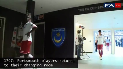 Fa Cup Tunnel Footage