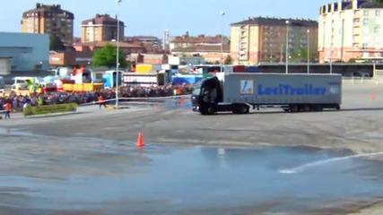 Лудо тестване на Камион