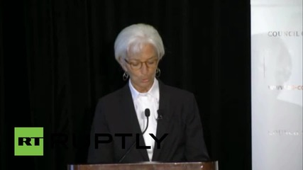 USA: IMF's Lagarde issues warning on global growth