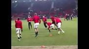 Интересно Тренировачно Занимание На Манчестър Юнайтед