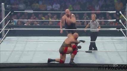 Big Show vs Ryback: Wwe Разбиване 20.08.2015