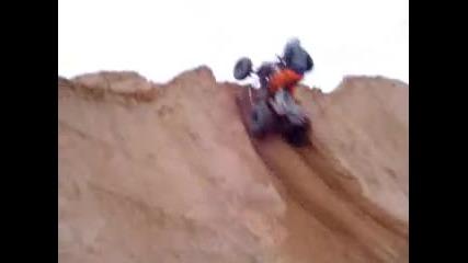 Raptor 700 at the desert