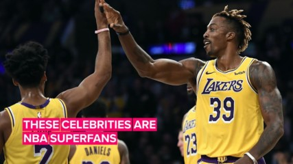 Are these stars the biggest NBA fans of all time?