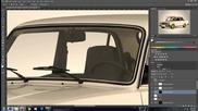 Photoshop Cs6 | Virtual Car Tuning | Lada 2107 #2