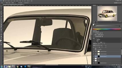 Photoshop Cs6   Virtual Car Tuning   Lada 2107 #2